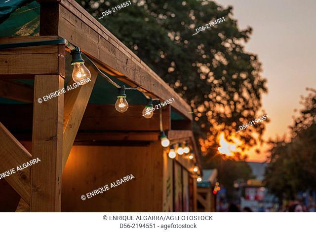 Lightbulbs, Prater, Vienna, Austria