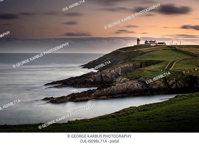 Scenic view of Galley head lighthouse, Clonakilty, Cork, Ireland