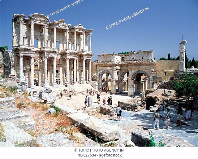 Celcus Library,Ephesus,Turkey