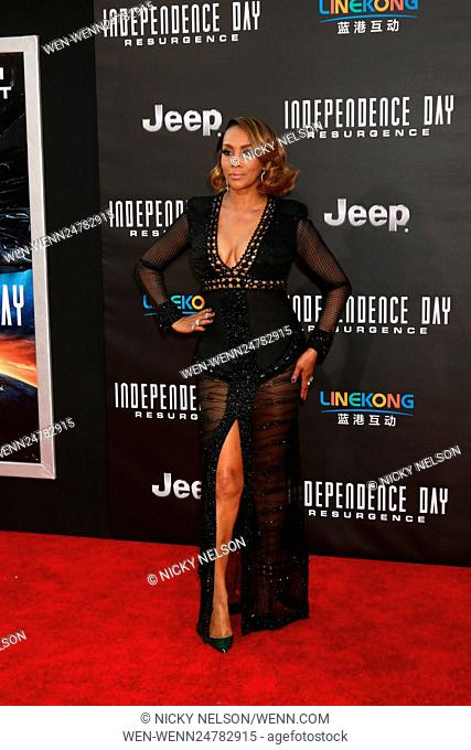 Independence Day: Resurgence LA Premiere at the TCL Chinese Theater IMAX on June 20, 2016 in Los Angeles, CA Featuring: Vivica A