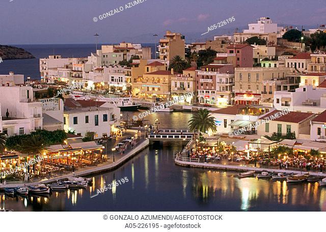 Agios Nicolaos. Crete. Greece