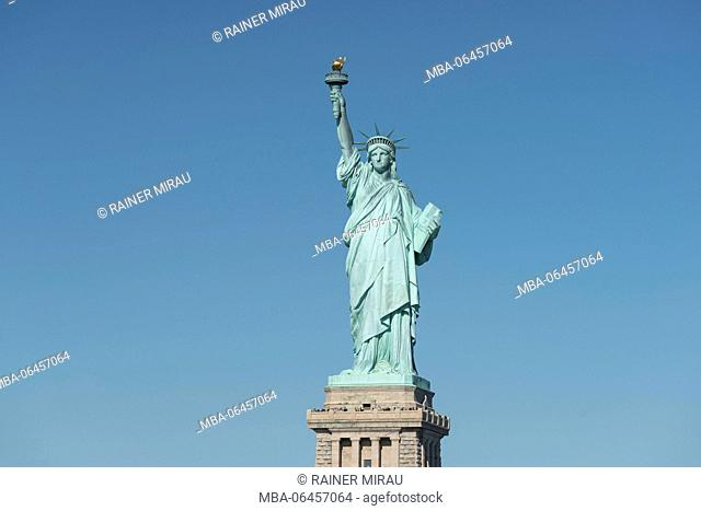 The Statue of Liberty, Liberty Iceland, New York city, the USA