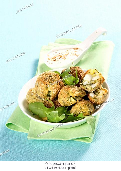 Polpette al forno (Italian oven-baked fritters)