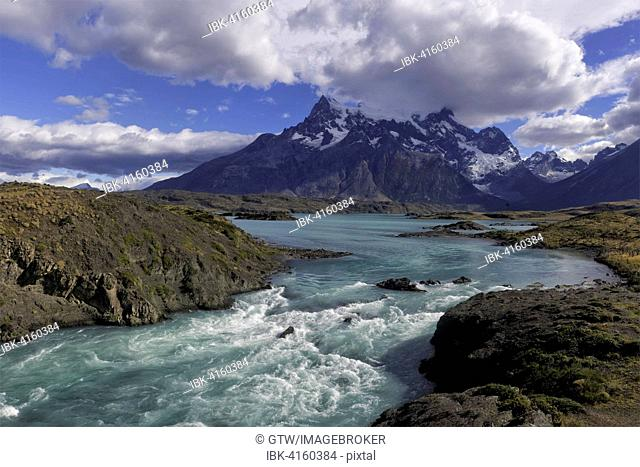 Stream, Torres del Paine National Park, Chilean Patagonia, Chile