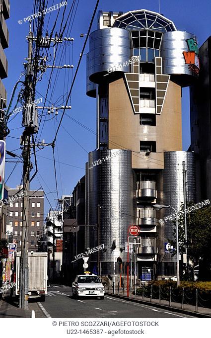 Fukuoka (Japan): modern architecture in Hakata