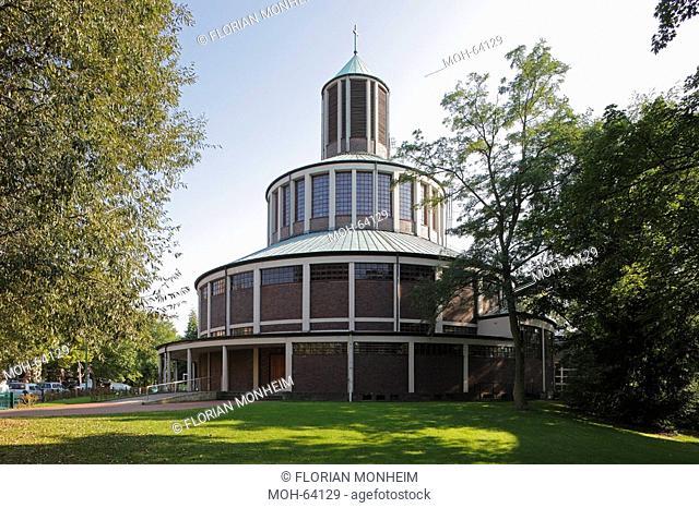 Essen, Evangelische Auferstehungskirche Rundkirche, 1930