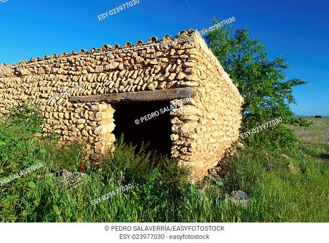 Rural building in Huesca Province, Spain