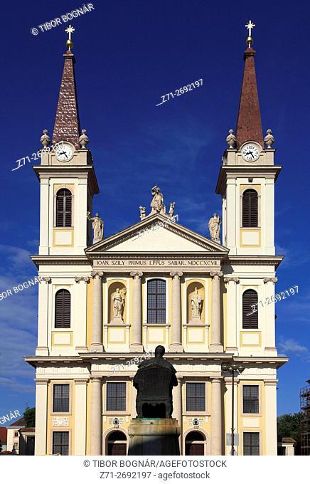 Hungary, Szombathely, Cathedral