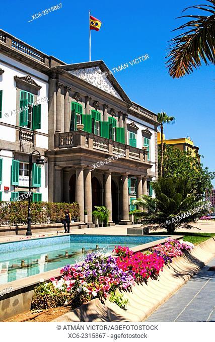 Command building of Las Palmas municipality. Gran Canaria island