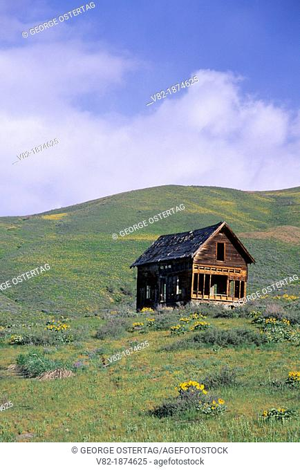Abandoned homestead, Methow Wildlife Area, Washington