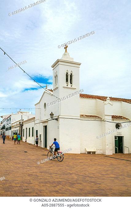 Fornells Village. Es Mercadal Municipality. Minorca Island. Balearic Islands. Spain