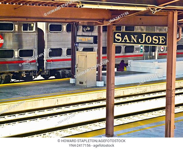 Train station in San Jose, California