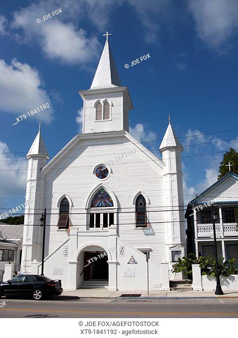 cornish memorial ame african methodist episcopal zion church key west florida usa