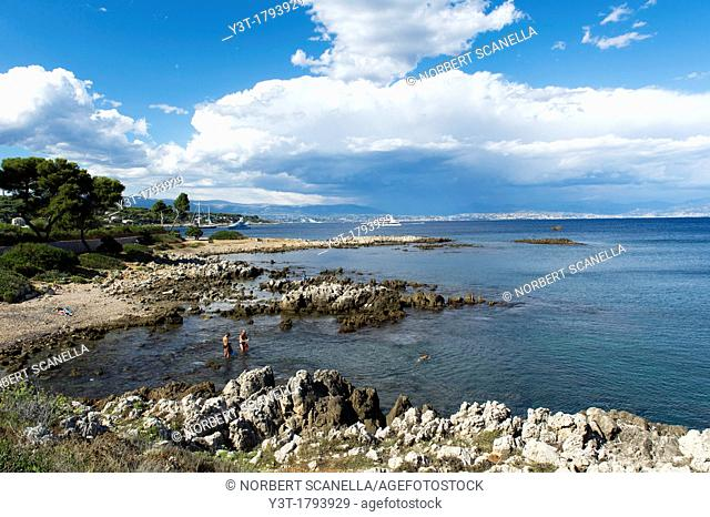 Europe, France, Alpes-Maritimes, 06, Antibes, Le Cap