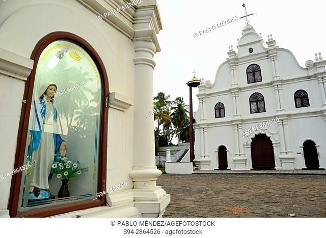 Christian church of Mattancherry, Ernakulam, Kerala, India