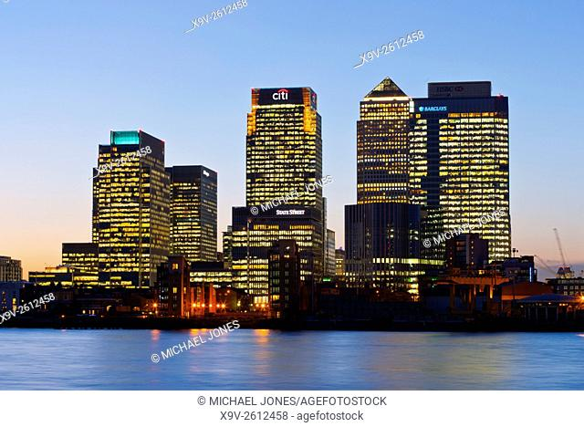 Canary Wharf Financial Centre, London
