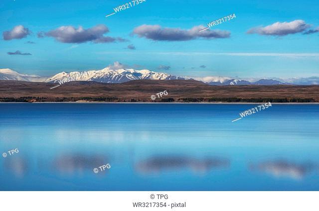 Lake Pukaki;New Zealand