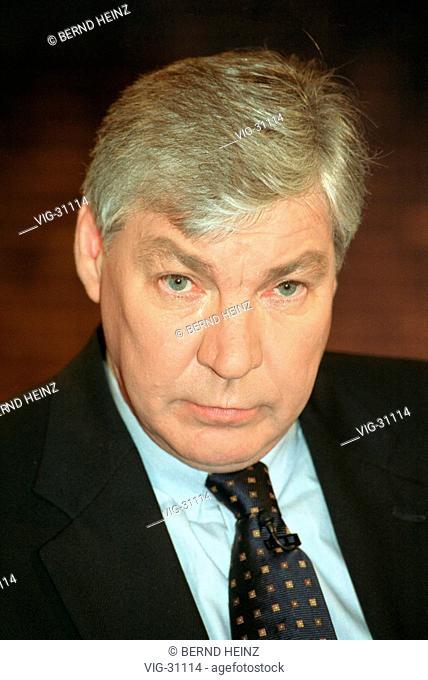 Michael SOMMER, chairman of the DGB ( Deutscher Gewerkschaftsbund, German Trade Union ). - BERLIN, GERMANY, 09/03/2003