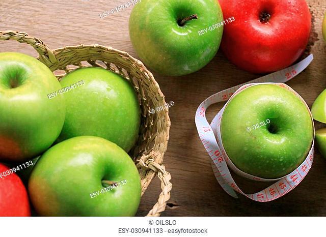 fresh apple green fruit