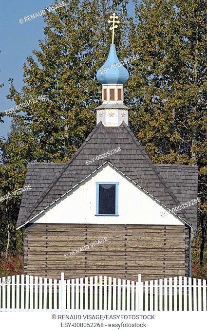 Russian Orthodox Church. Kenai. Alaska