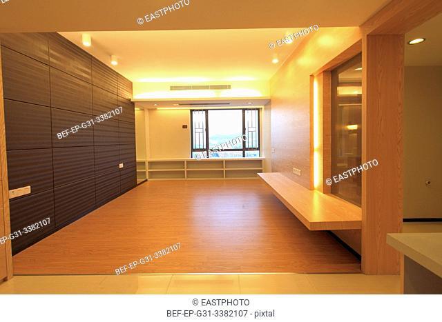 Renovate empty house