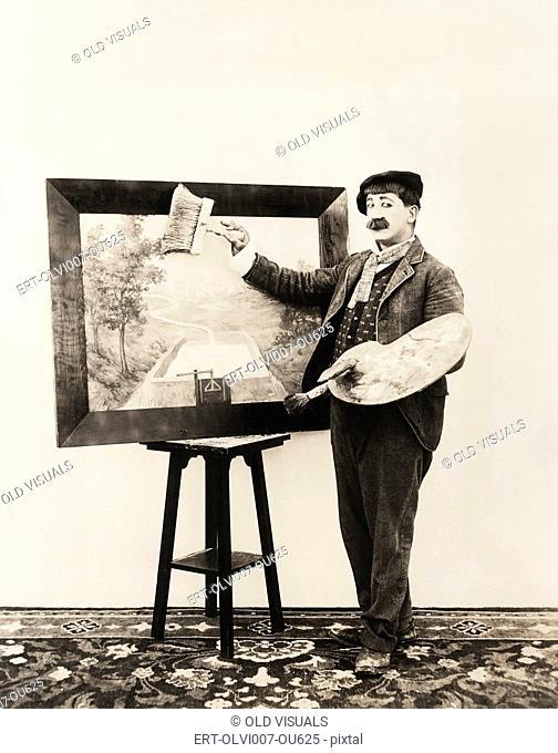Painter or artist? (OLVI007-OU625-F)