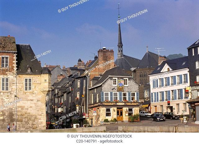 Honfleur. Normandy. France