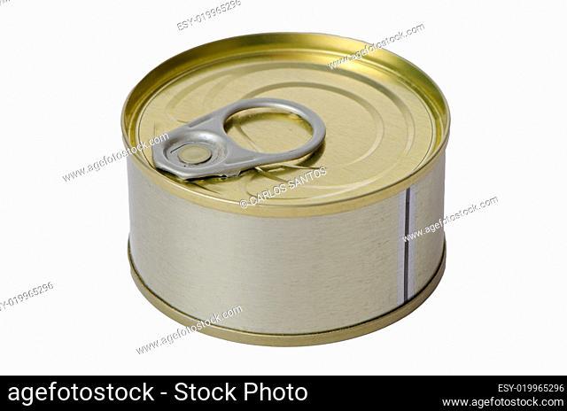 Tuna fish tin can