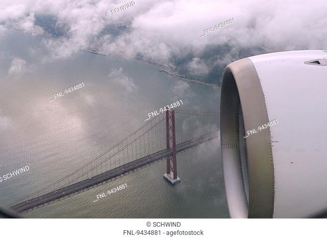 Ponte 25 de Abril, Lisbon, Portugal, Europe