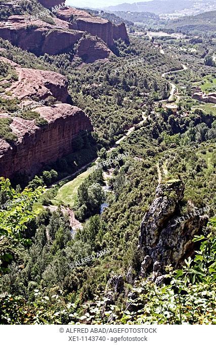 Tenes valley, Bigues i Riells, Catalonia, Spain