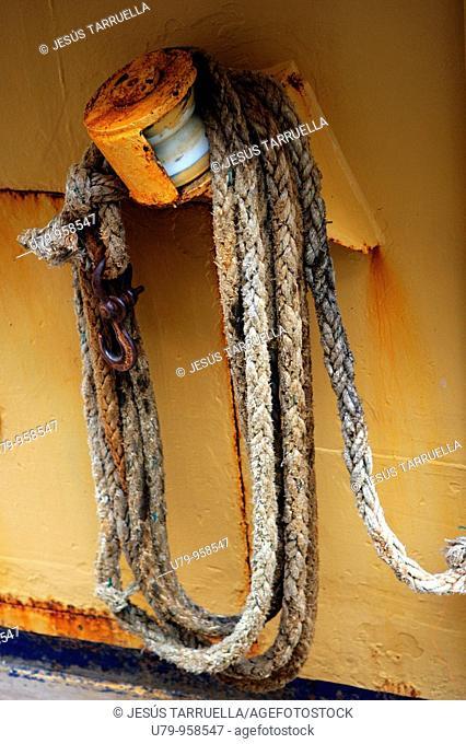 Cuerdas de barco