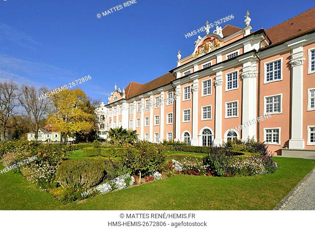 Germany, Baden Wurttemberg, Lake Constance (Bodensee), Meersburg, Neues Schloss (New castle)