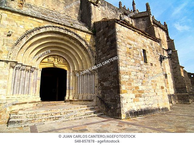 Church of Santa Maria de los Angeles, San Vicente de la Barquera, - XIII XVI, Cantabria. Spain