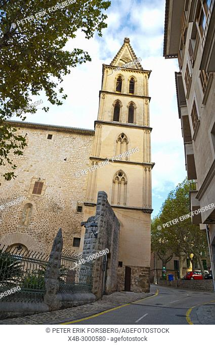 Iglesia de Biniaraix, Soller, Mallorca, Balearic islands, Spain