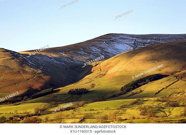 Arant Haw Fell Howgill Fells from Garsdale Yorkshire Dales Engla