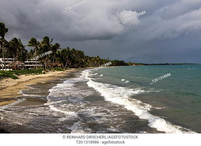 Beach of Pacific Harbour, Beqa Lagoon, Viti Levu, Fiji