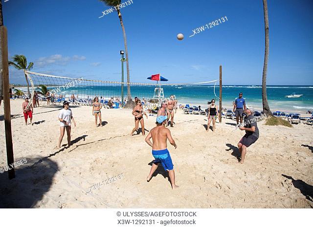 America Caribbean Sea Hispaniola Island Dominican Republic Punta Cana Hotel Barcelo