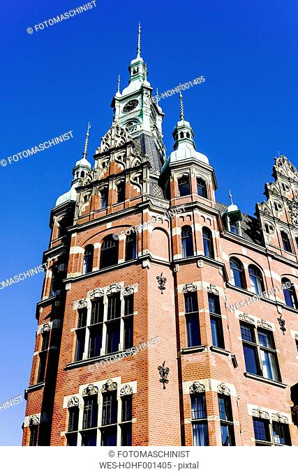 Germany, Hamburg, Hafenrathaus