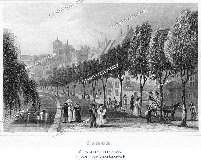 'Liege', 1850. Artist: R Brice