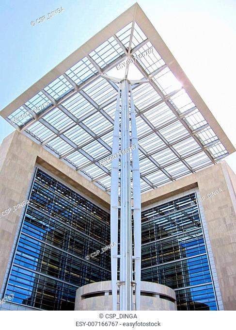 Modern court building
