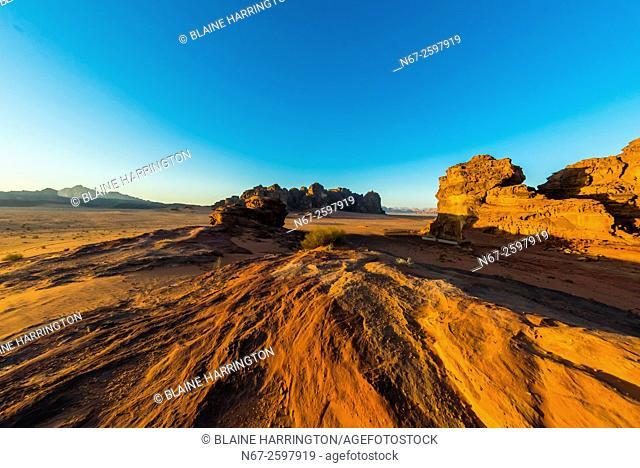 Arabian Desert, Wadi Rum, Jordan