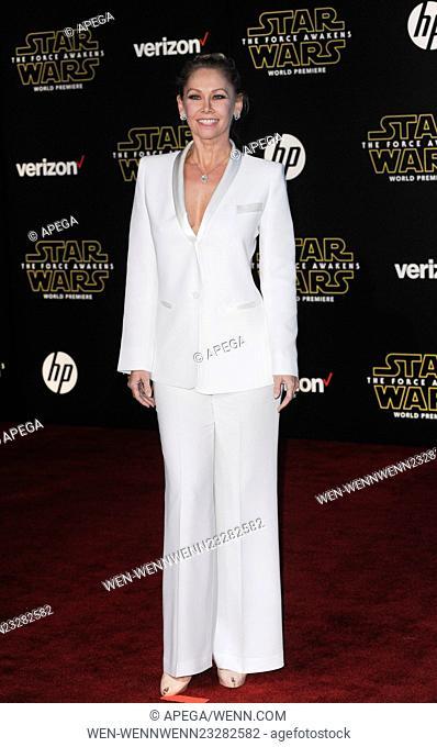 Film Premiere of Star Wars: The Force Awakens Featuring: Kym Johnson Where: Los Angeles, California, United States When: 15 Dec 2015 Credit: Apega/WENN
