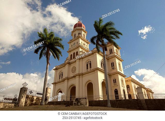 Basilica of the Virgen de la Caridad del Cobre, Santiago de Cuba, Cuba, Caribbean Coast, Central America