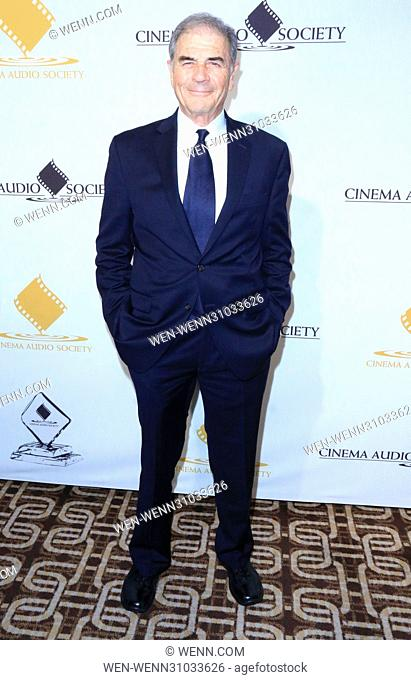 53rd Annual Cinema Audio Society (CAS) Awards at Omni Los Angeles Hotel at California Plaza - Arrivals Featuring: Robert Forster Where: Los Angeles, California