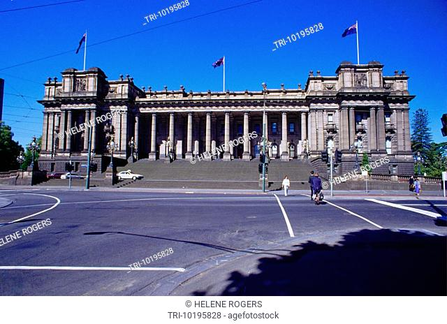 Melbourne Victoria Australia State Parliament House