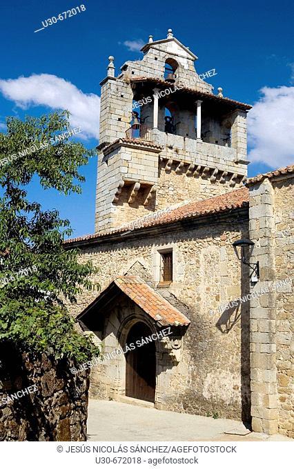 San Martín del Castañar, Sierra de Francia , Salamanca province. Castilla y Leon. Spain