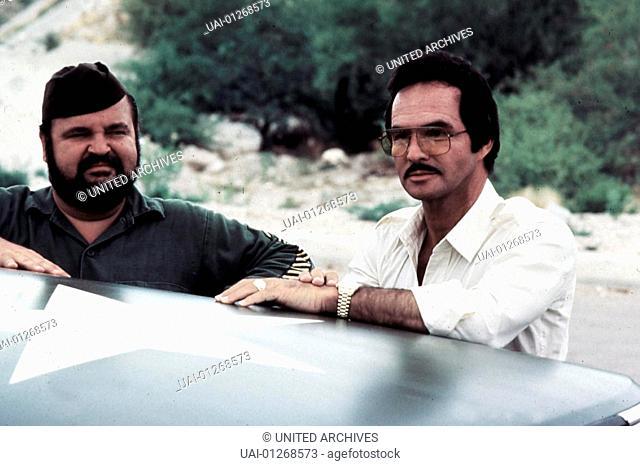 Highway 2 - Auf Dem Highway Ist Wieder Die Hoelle Los, 1980er, 1980s, Armbanduhr, Brille, Cannonball Run Ii, Film, Schnauzbart, eye glasses, moustache