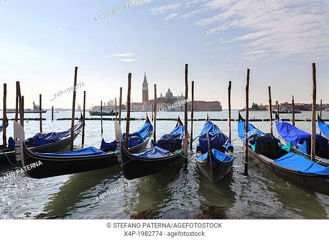 San Giorgio Maggiore, Church, Campanile, Island, Venice, Italy