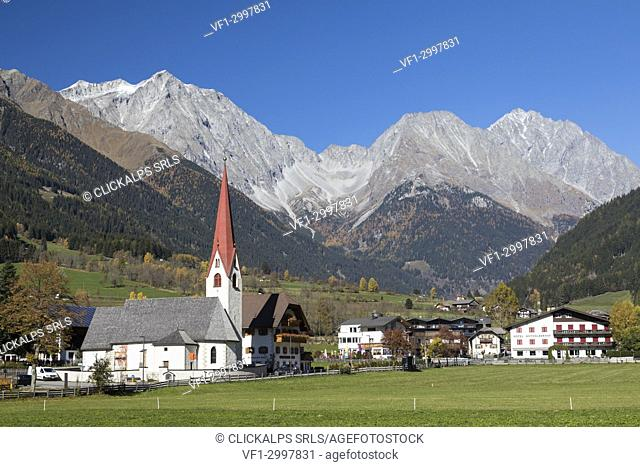 Anterselva di Sotto - Antholz Niedertal in the Antholz valley, South Tyrol, Bolzano, Italy