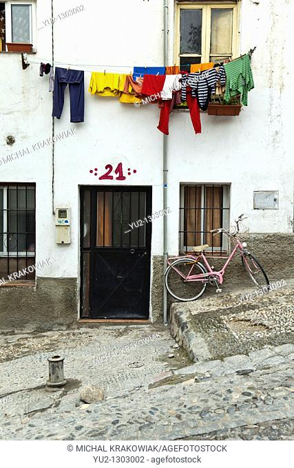 Home in Albayzín - old district of Granada, Spain